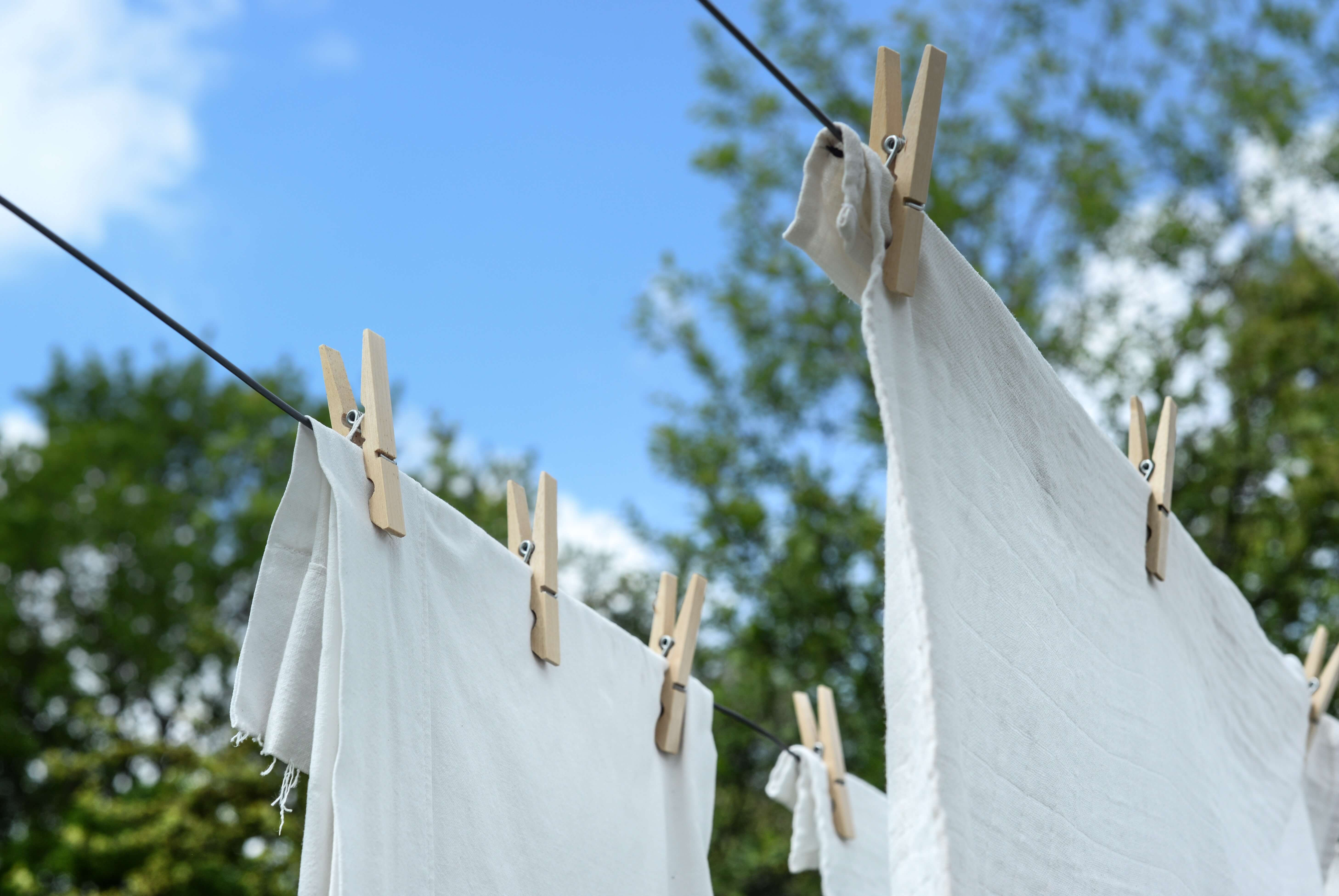 Close Up Clothes Clothesline